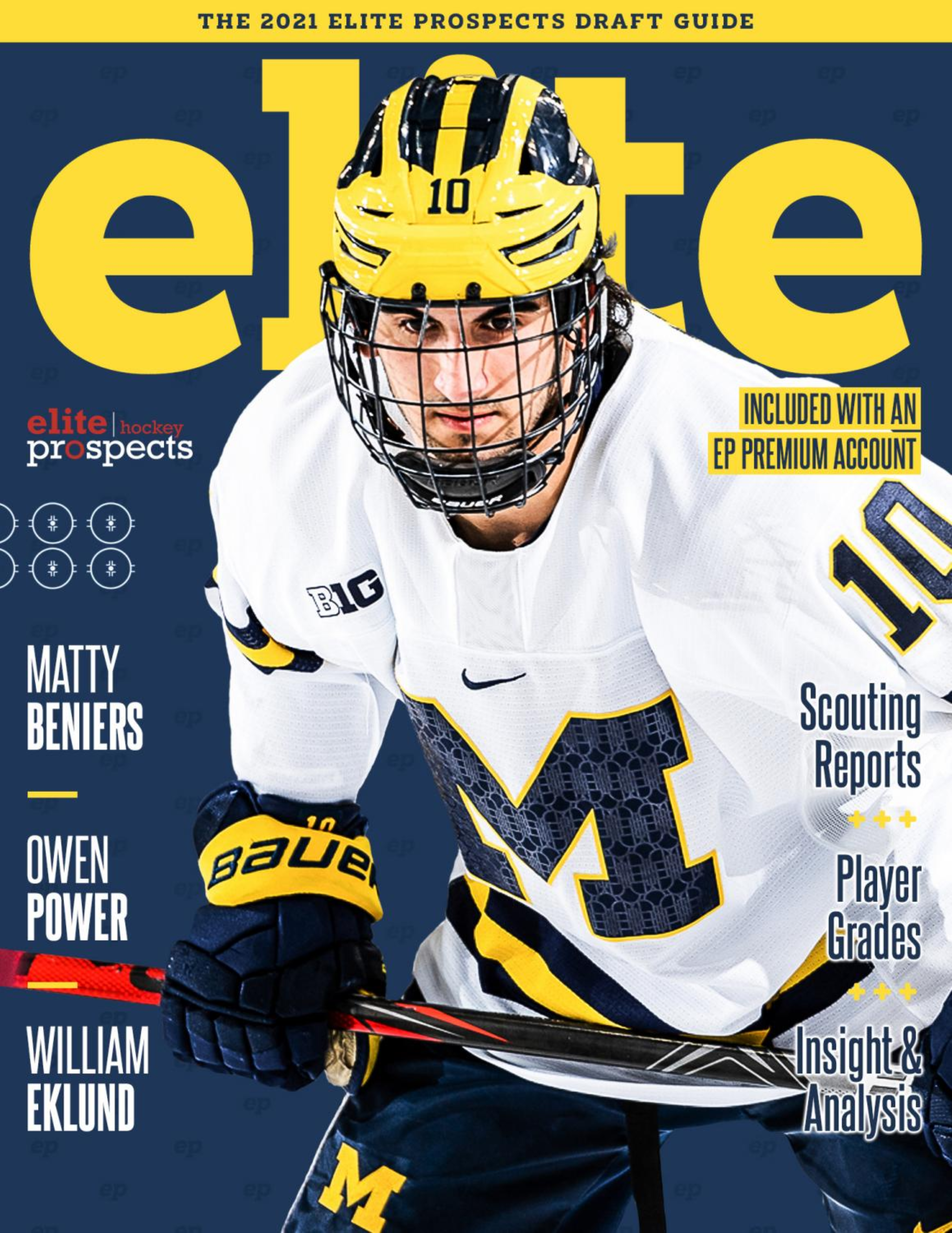 2021 Elite Prospects NHL Draft Guide